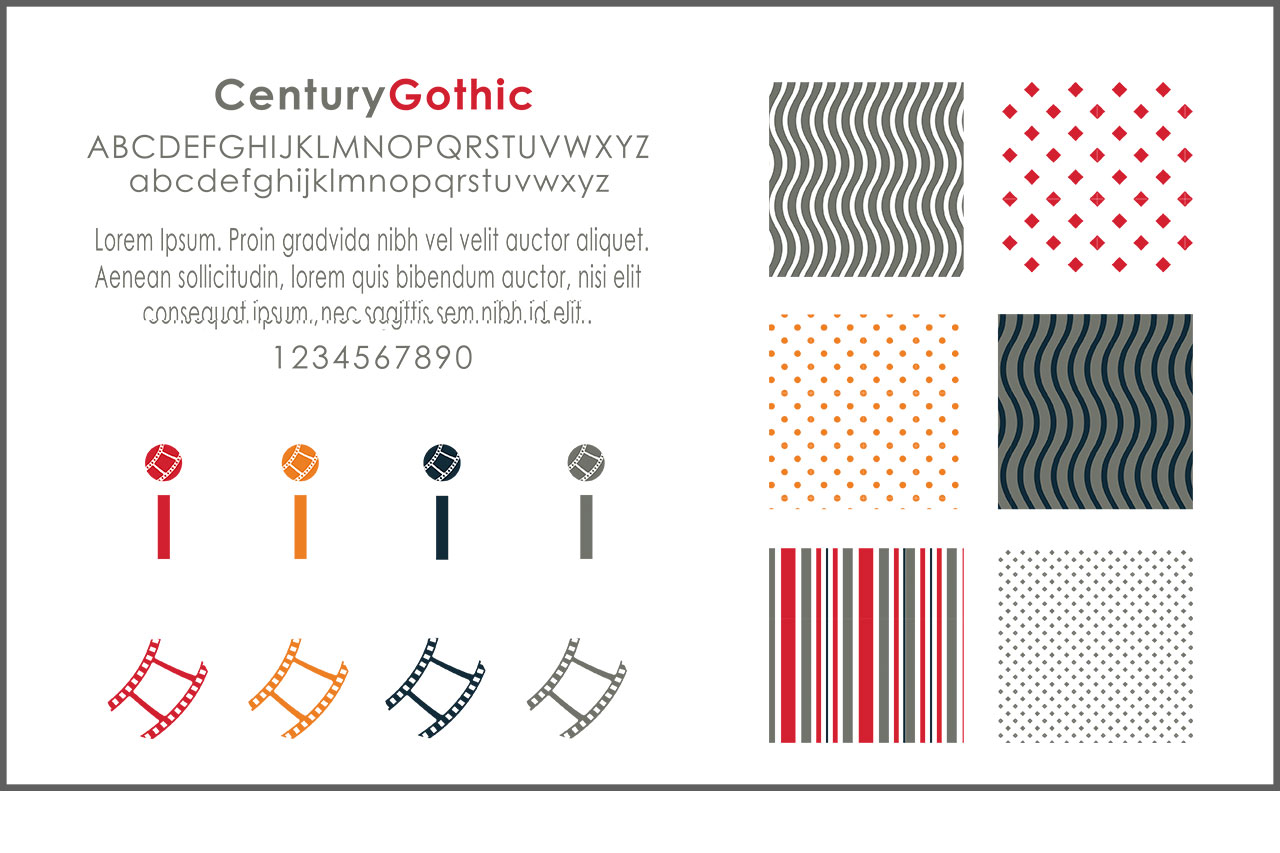 Brand Identity | Typography, Icons & Patterns