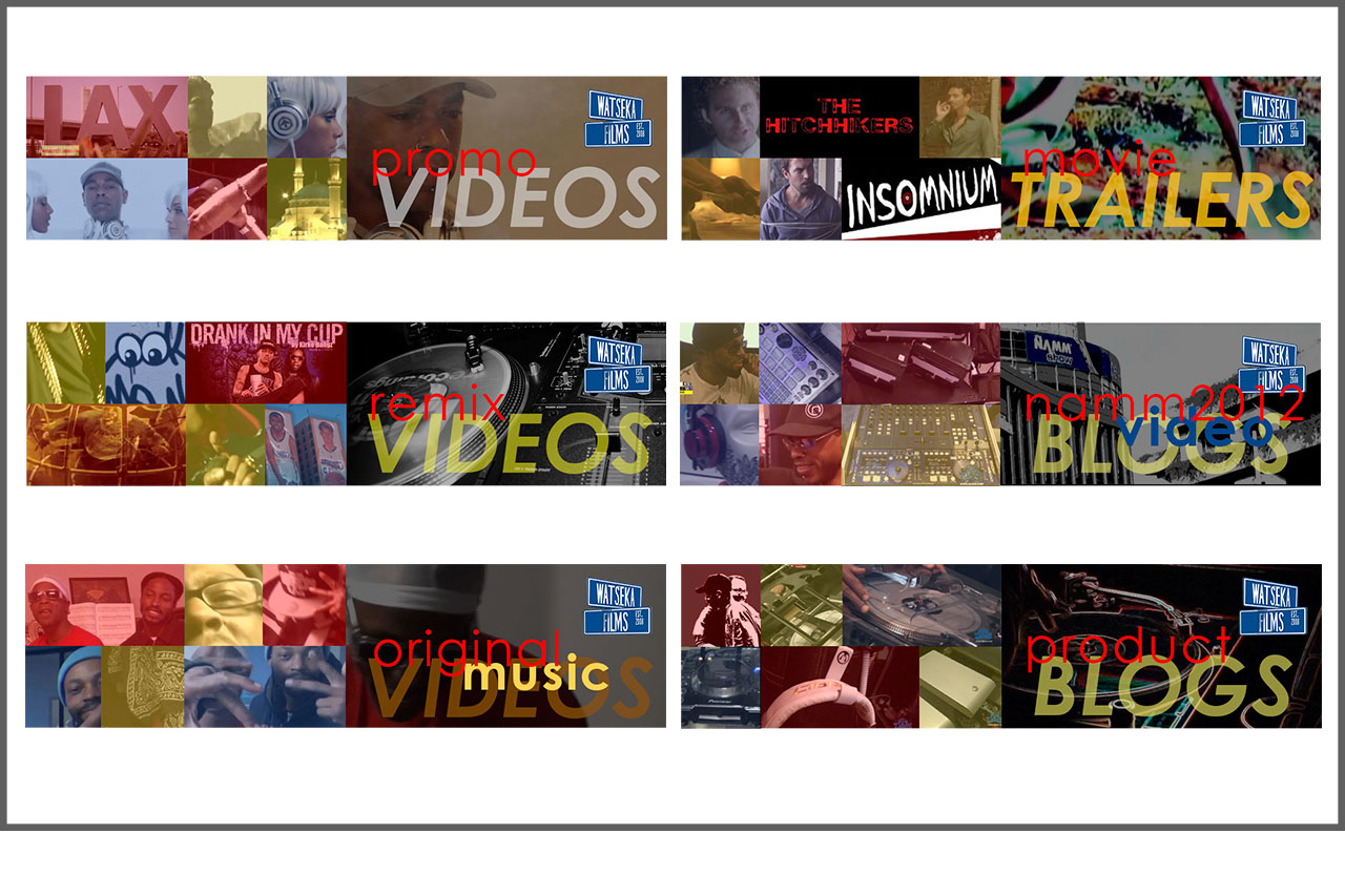 Vimeo | YouTube Channel Banners